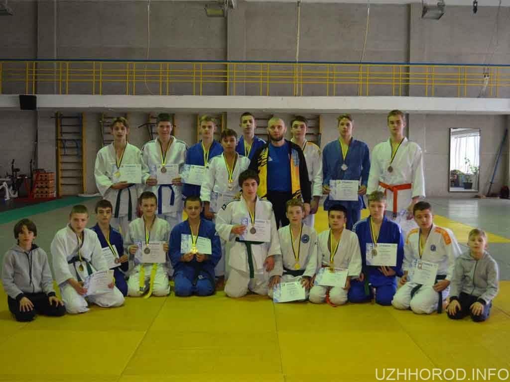 В Ужгороді відбувся чемпіонат області з дзюдо