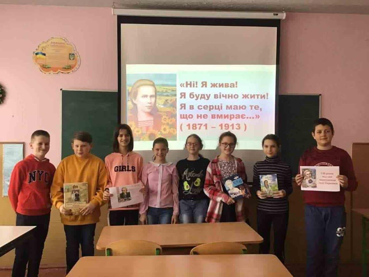 До 150-річчя від дня народження Лесі Українки в міських бібліотеках Ужгорода організували онлайн-заходи