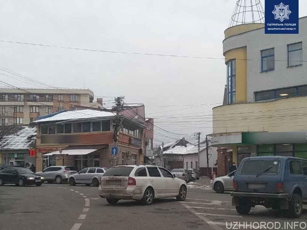 Ужгородські патрульні притягли до відповідальності водіїв за неправильне паркування