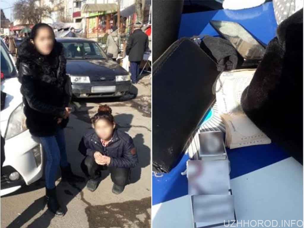 Патрульні виявили ймовірних крадійок фото