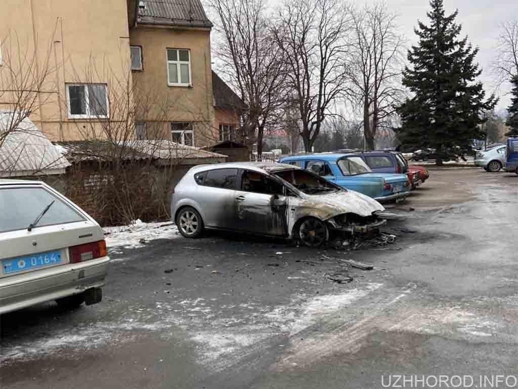 пожежа автомобіль фото