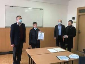 В УжНУ відбулося нагородження переможців обласної школярської олімпіади з математики