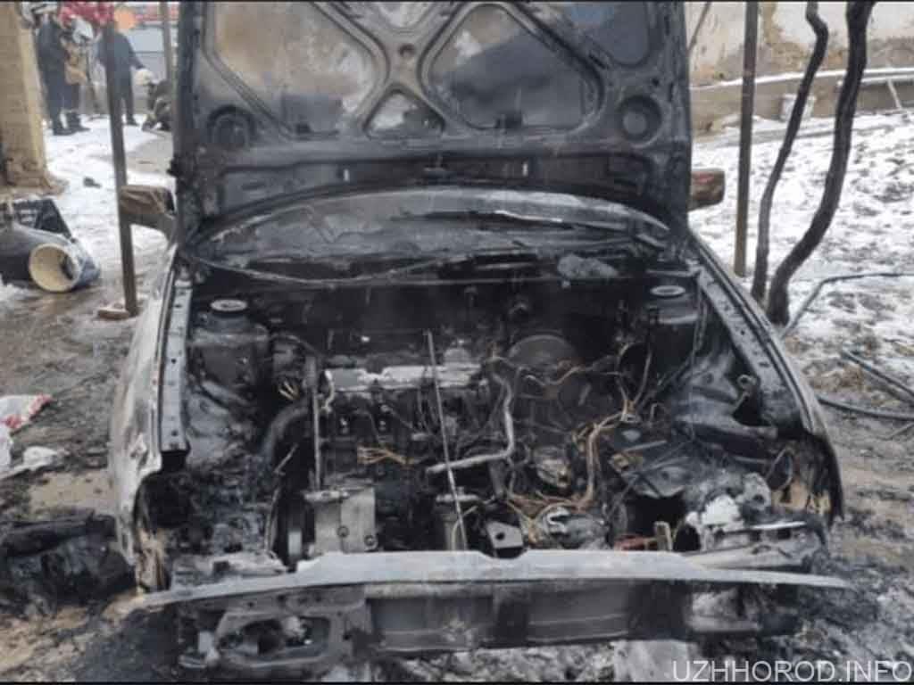 вогонь знищив Volkswagen Polo фото