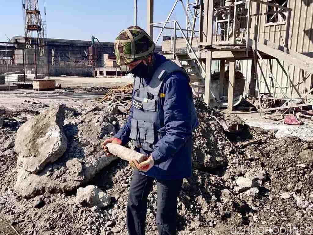 будівництво вибухівка снаряд фото