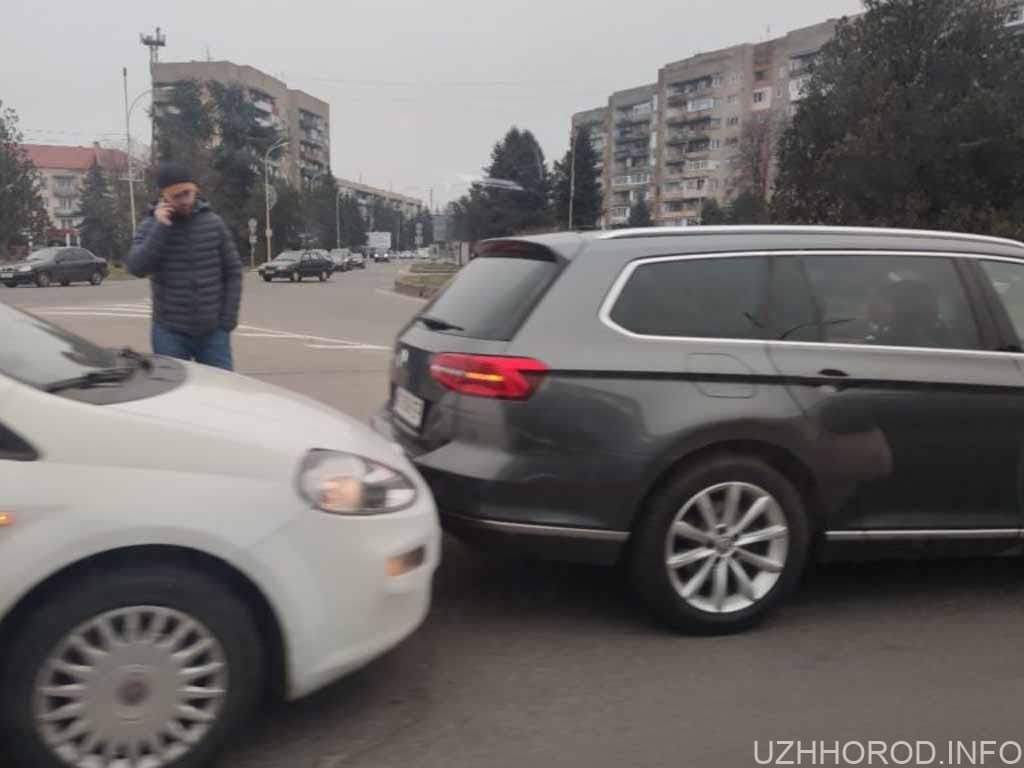 Ранкова ДТП в Ужгороді