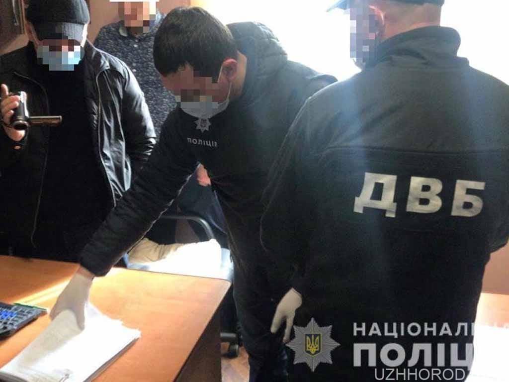 кримінал поліція підкуп фото