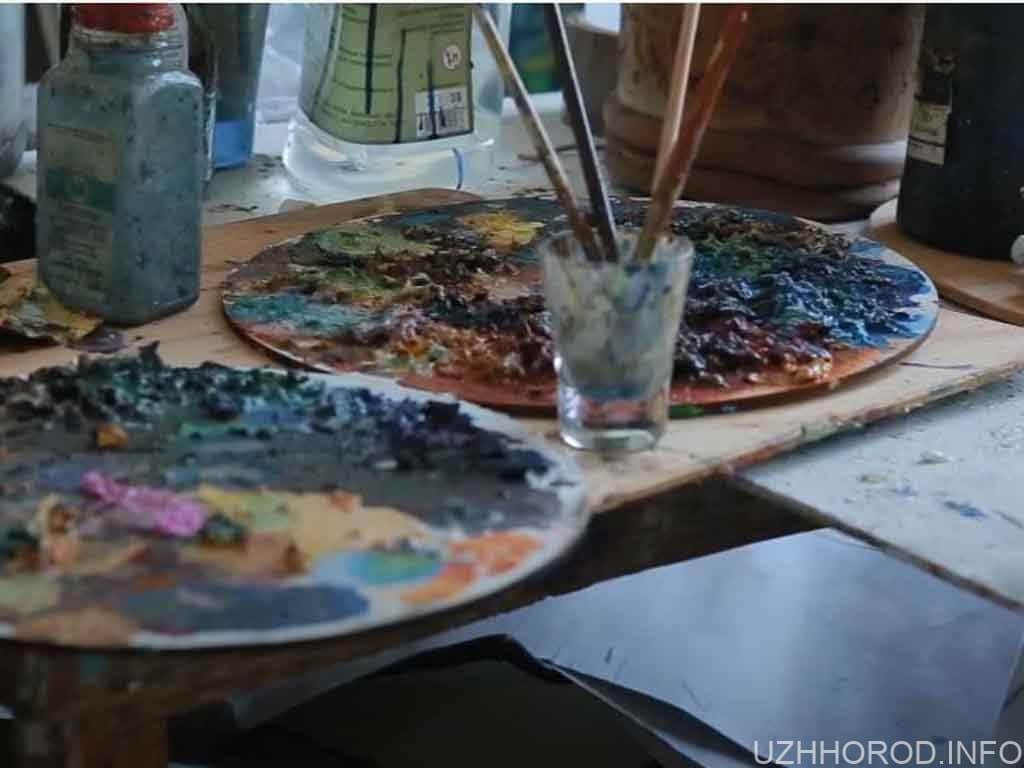 мистецтво фарби пензлик фото