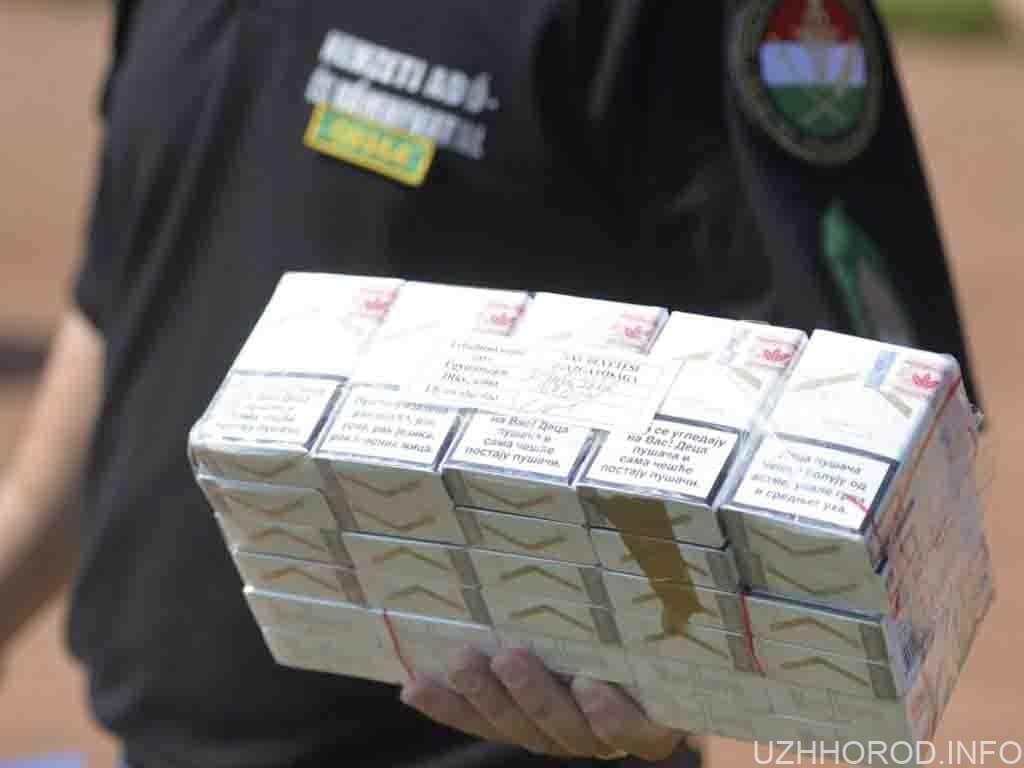 цигарки контрабанда кордон фото