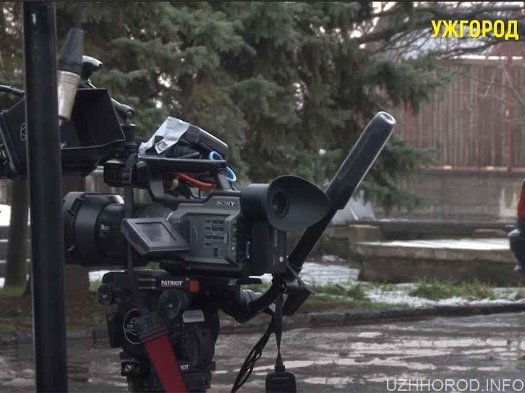 відеокамера фільм Ужгород фото