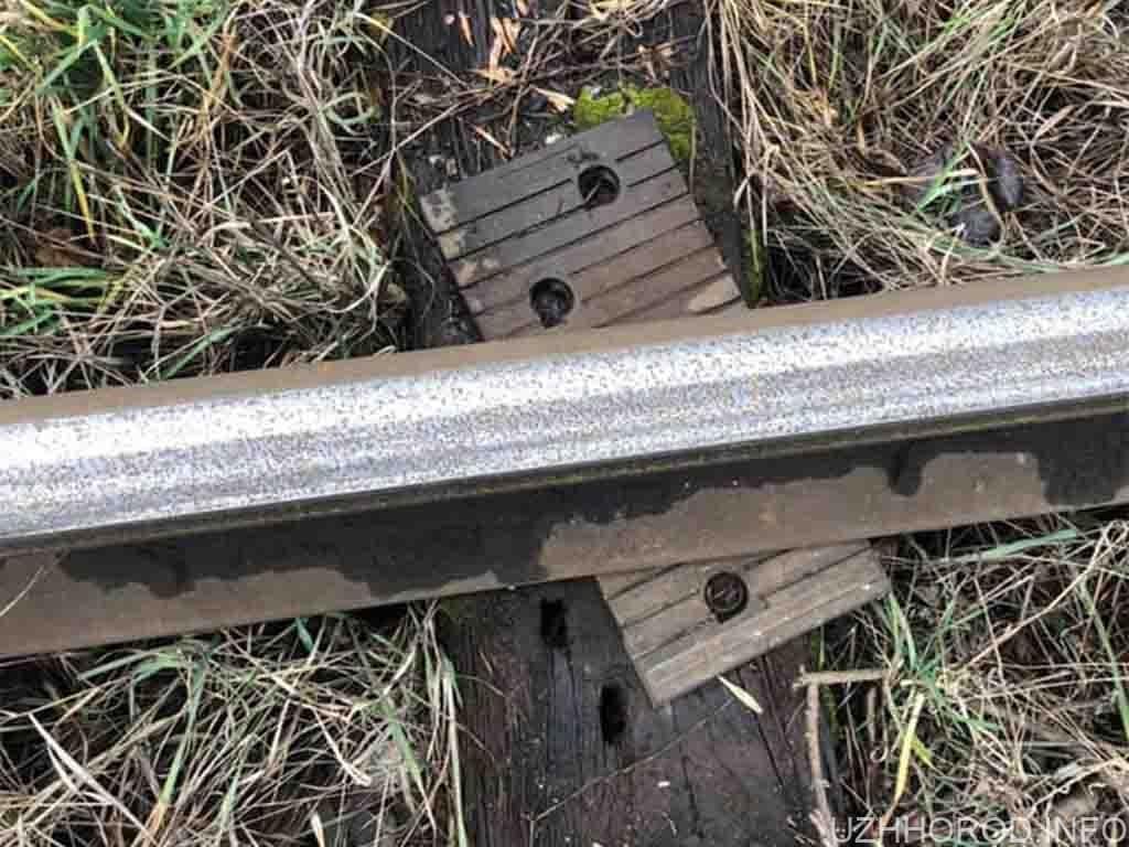 залізна дорога кража фото