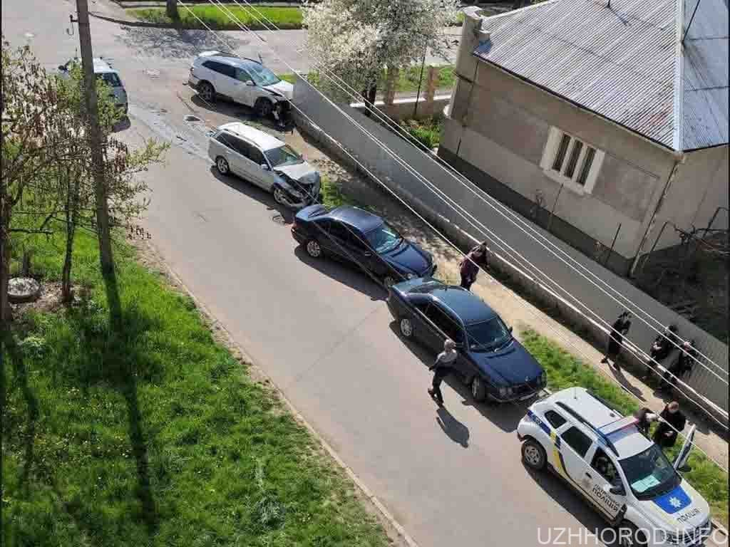 дтп автомобіль паркан фото