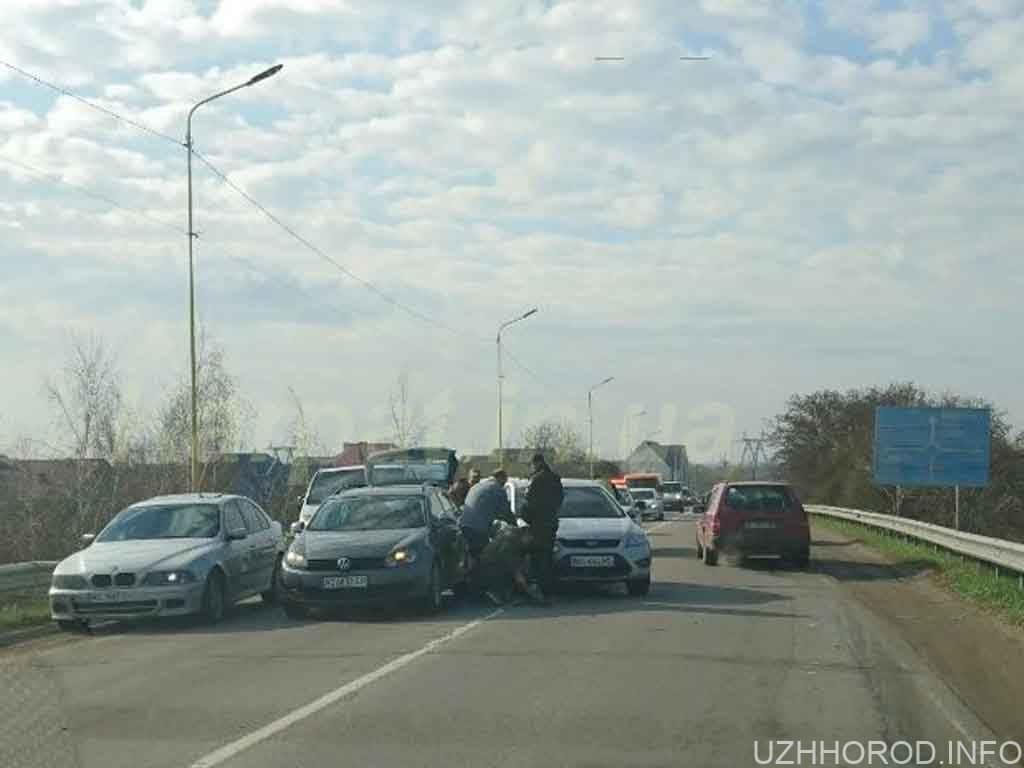 Поблизу Ужгорода сталася автопригода