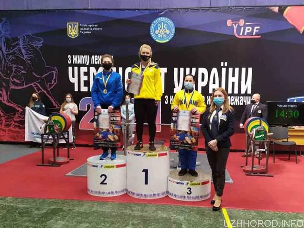 Закарпатка здобула медаль на чемпіонаті України з жиму лежачи