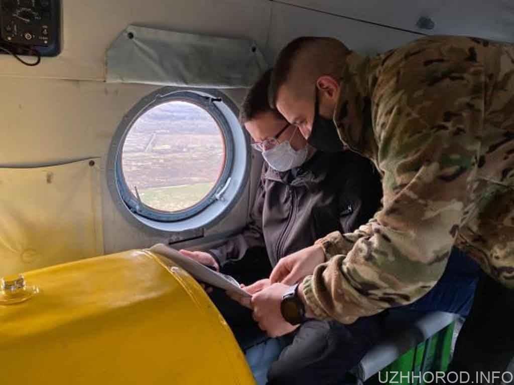 Полосков ода вертоліт фото