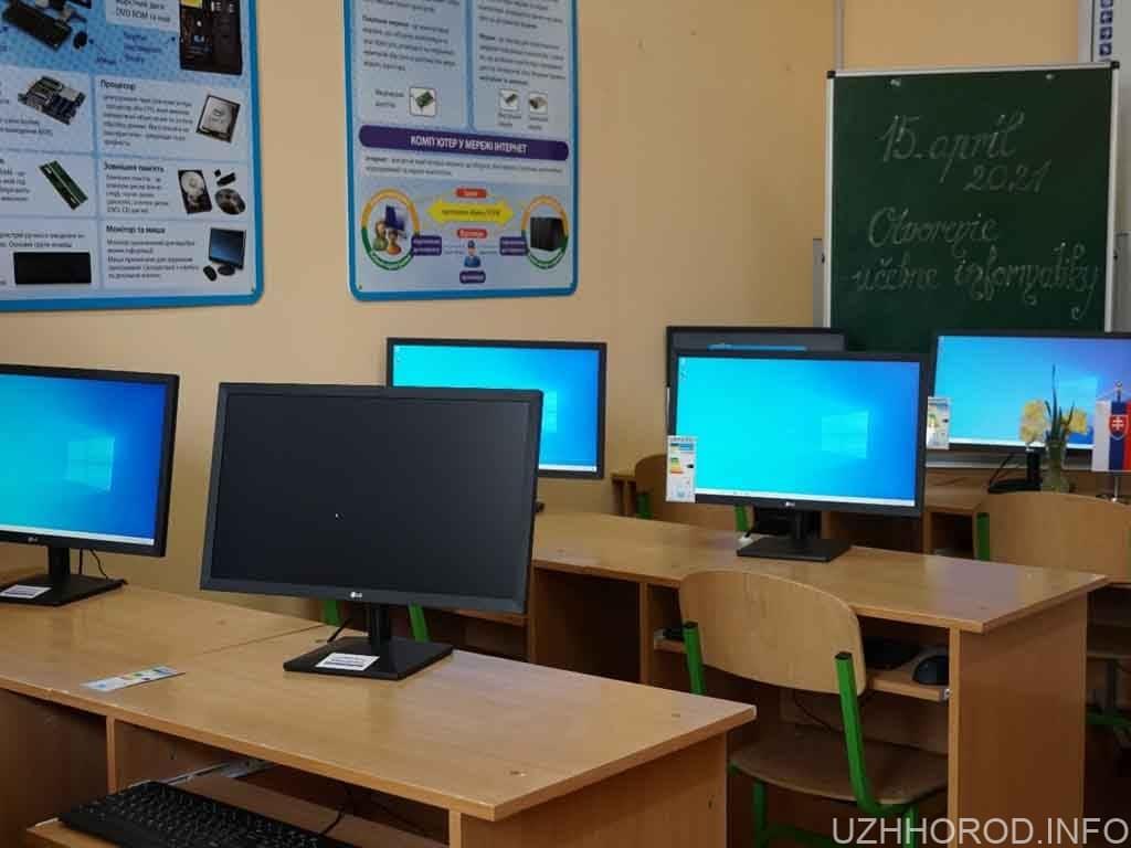 сучасний комп'ютерний клас фото