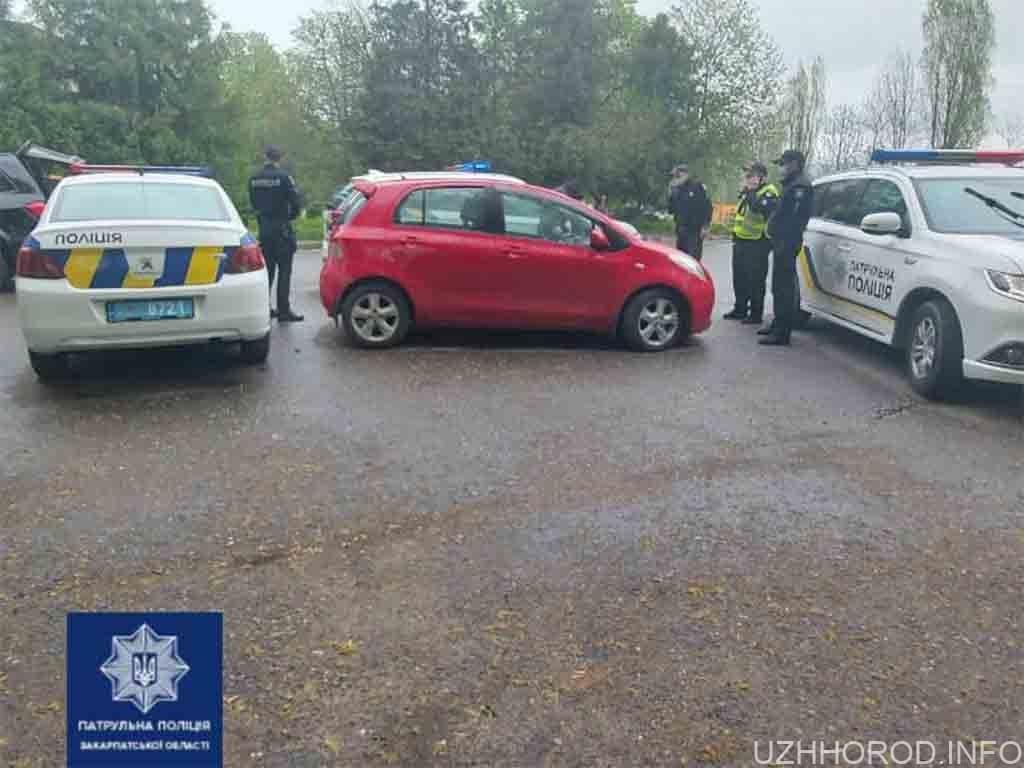 автомобіль затримано водія фото