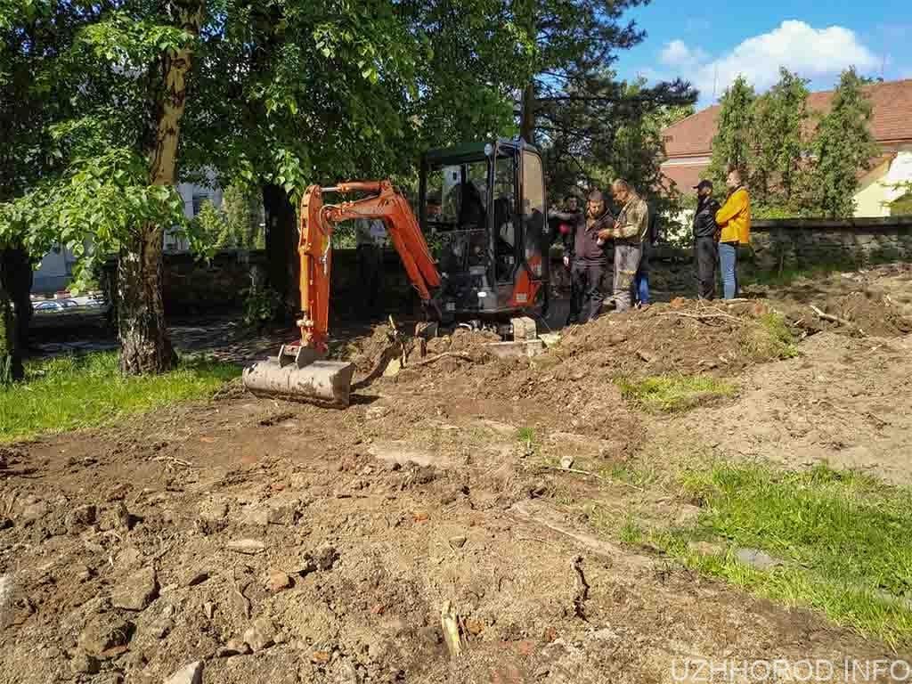 незаконні земляні роботи жупанат