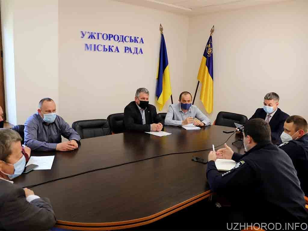 засідання місьрада безпека перевезень фото