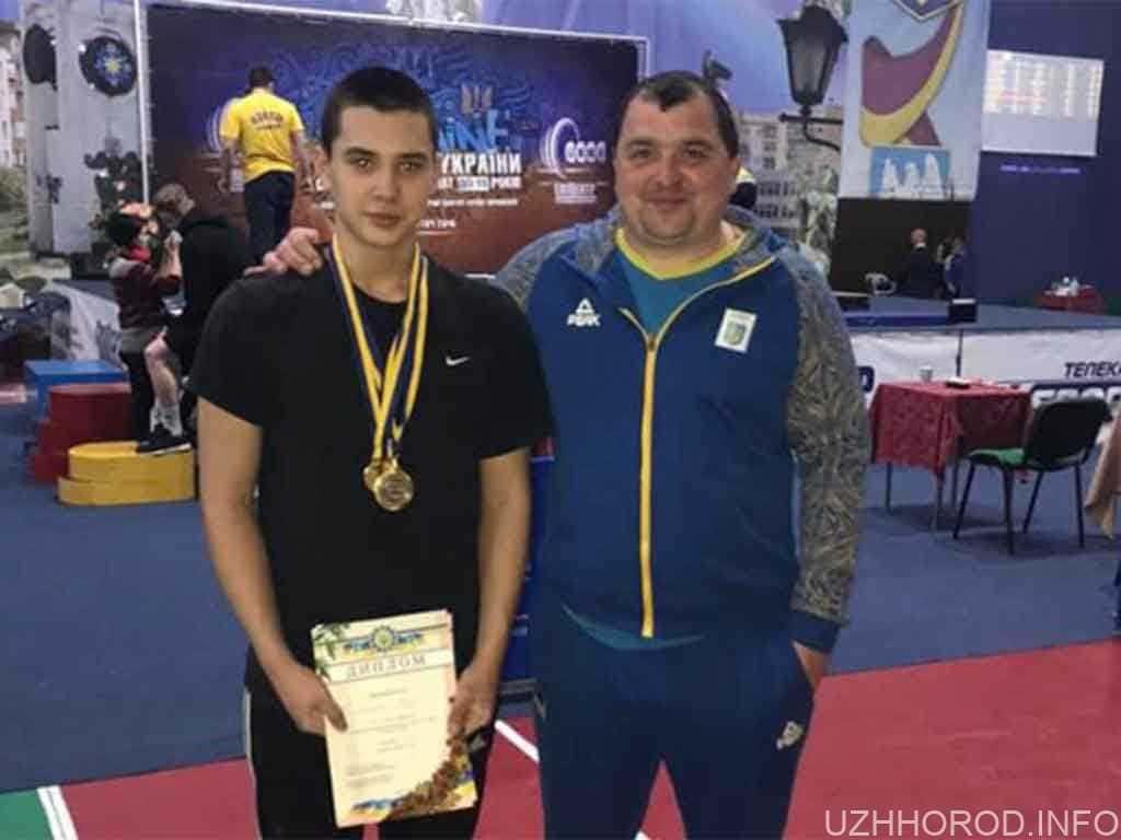 Андрій Шпичка важка атлетика фото