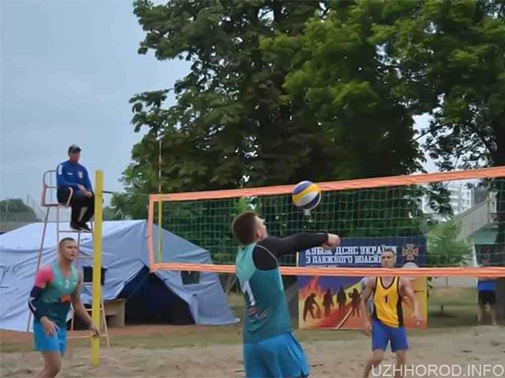 чемпіонат ДСНС з пляжного волейболу