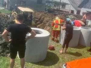 Під час копання колодязя на Закарпатті 43-річного чоловіка засипало землею