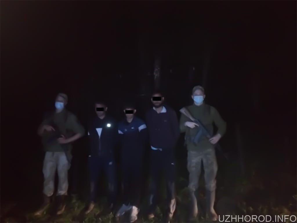 Поблизу Ужгорода затримали групу нелегалів