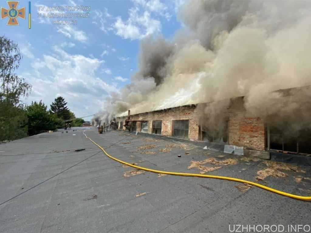 пожежа складські приміщення фото