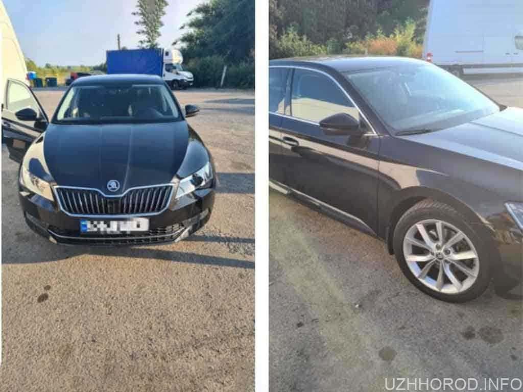 На Закарпатті виявили викрадений автомобіль з Чехії