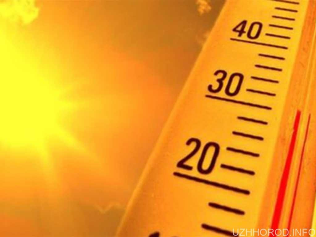 Цілий тиждень на Закарпатті буде спекотно