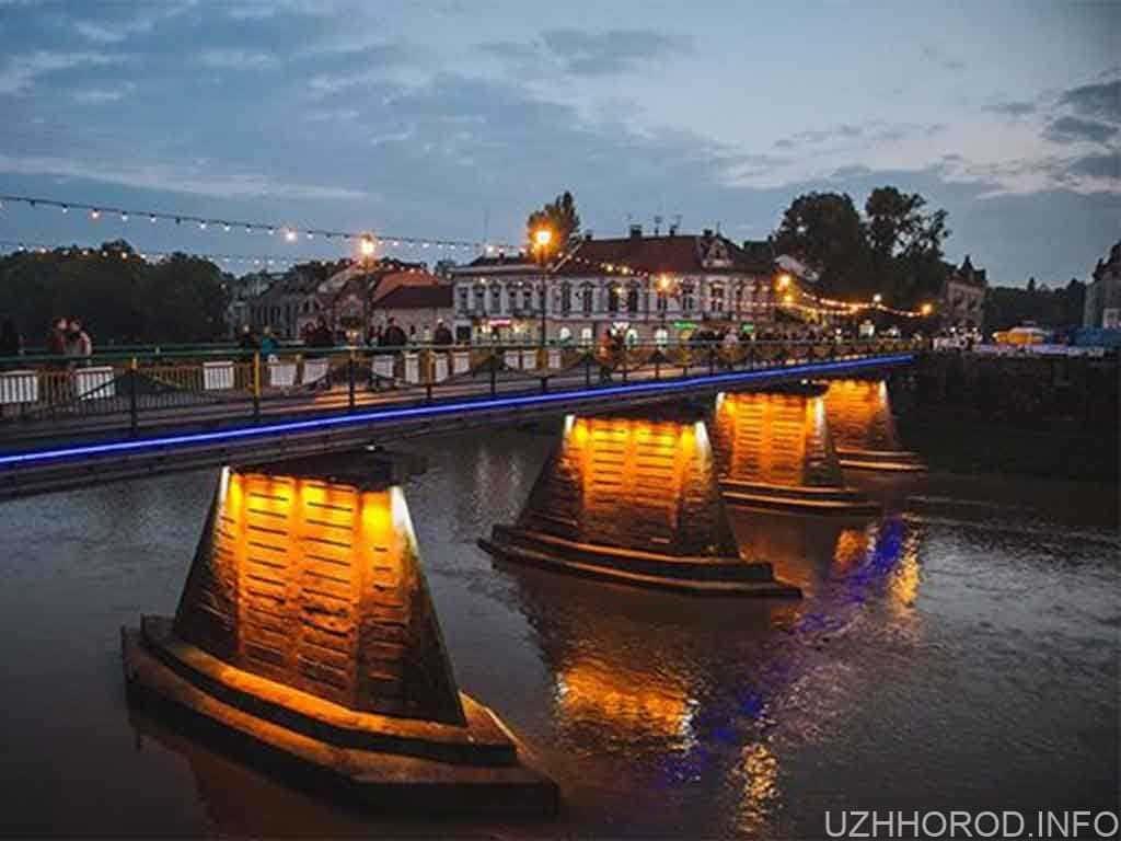 В Ужгороді оголосять відкритий конкурс на найкращий проєкт реконструкції пішохідного мосту