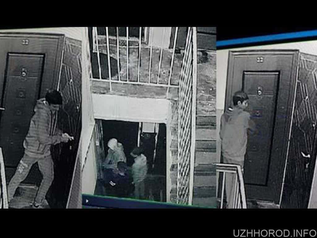 """""""Банда малолiтнiх шарить по квартирах"""": у Мукачеві камери зафіксували злодіїв"""