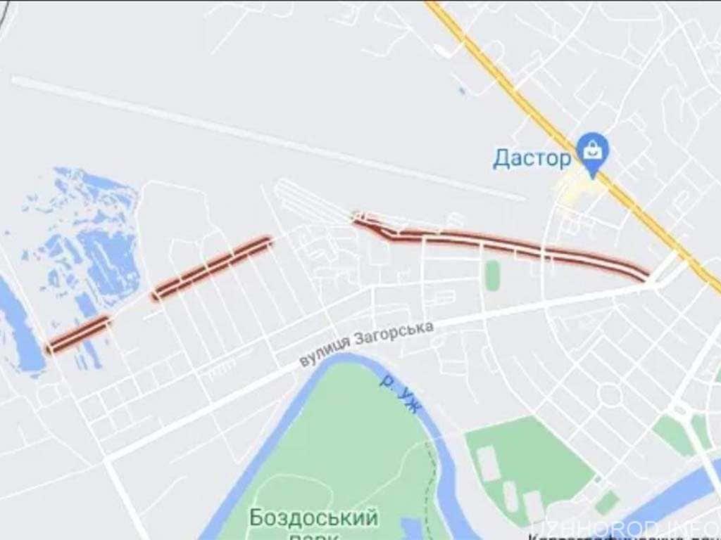 В Ужгороді можуть перейменувати вулицю