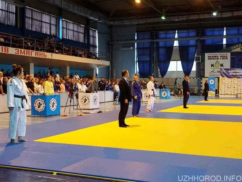 В Ужгороді триває чемпіонат України з дзюдо