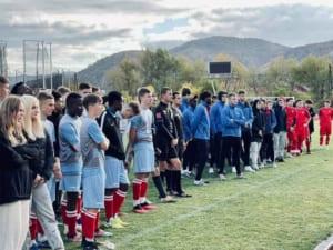 Команда УжНУ перемогла на Міжнародному студентському турнірі з футболу