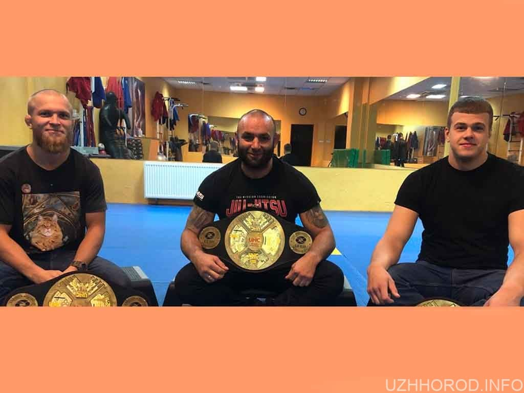 Троє закарпатців стали абсолютними чемпіонами України з джиу-джитсу