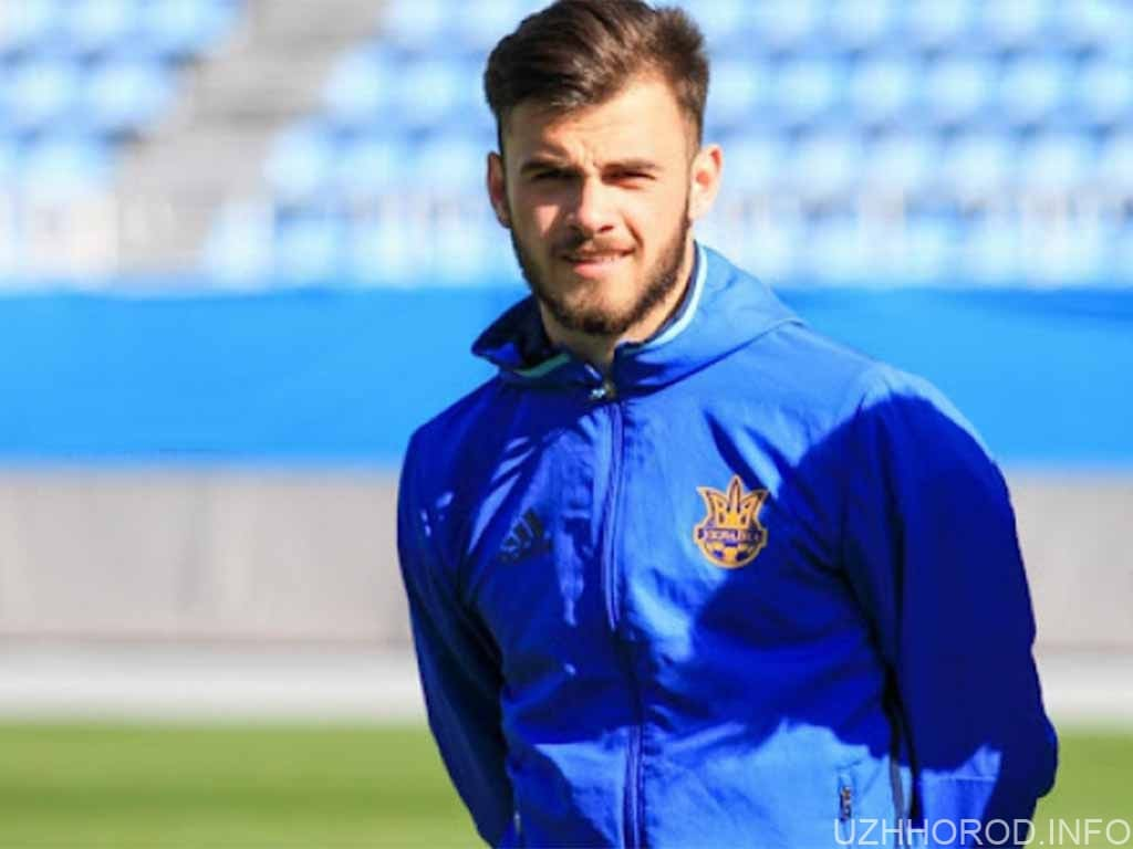 Закарпатець Булеца дебютував за збірну України