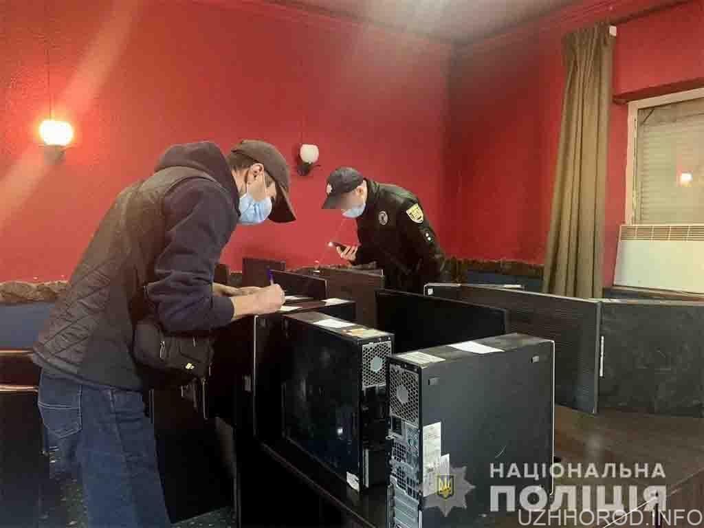 Поліцейські припинили підпільний гральний бізнес ще у трьох населених пунктах регіону